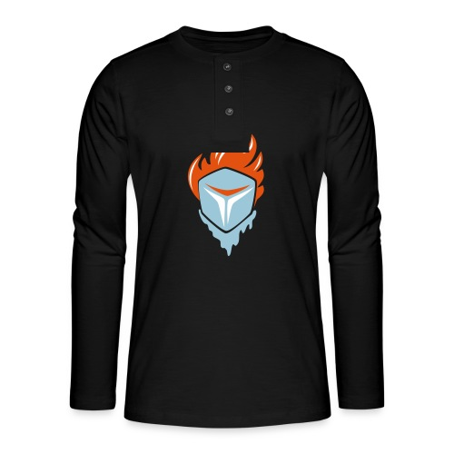 Fire and Ice 3C - Henley Langarmshirt