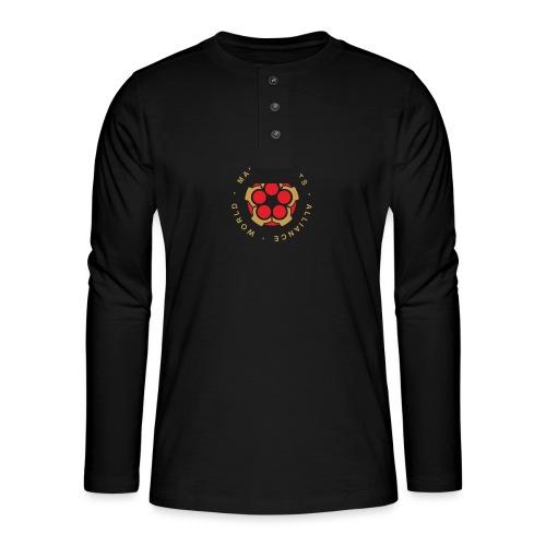 WMAA-logo_xl - Henley Langarmshirt