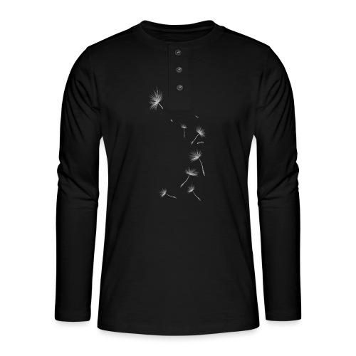Pusteblume Design 1 - Henley Langarmshirt