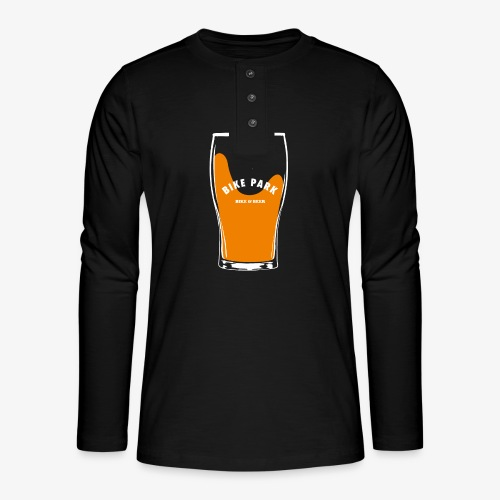 Beer Bike Park - T-shirt manches longues Henley