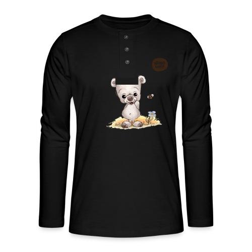Noah der kleine Bär - Henley Langarmshirt