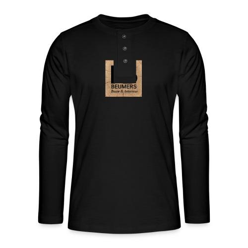 aa - Henley shirt met lange mouwen