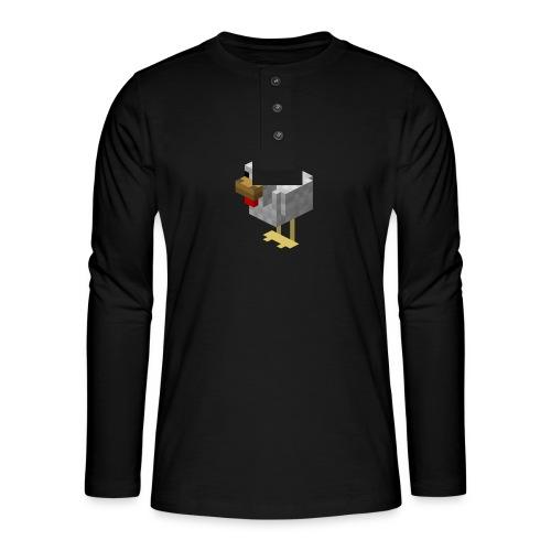 514px Chicken - Maglia a manica lunga Henley