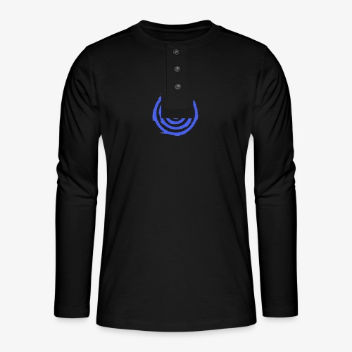Shooting Target - Henley long-sleeved shirt