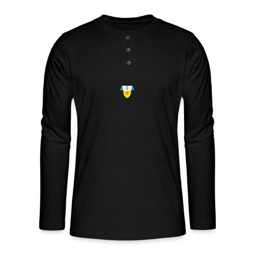rocket - Camiseta panadera de manga larga Henley