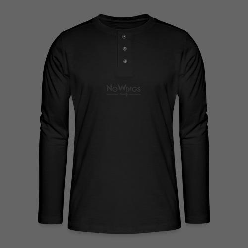NoWings_Fam - Henley Langarmshirt