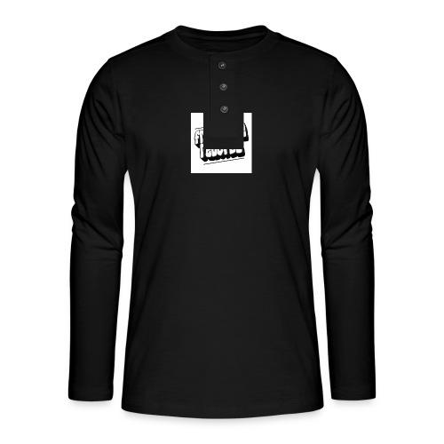 newfrontzidelogo - Henley T-shirt med lange ærmer