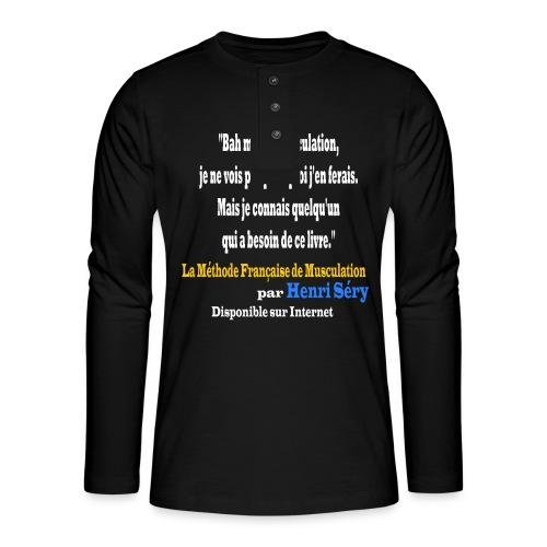 LMF Sante 2 v2 - T-shirt manches longues Henley