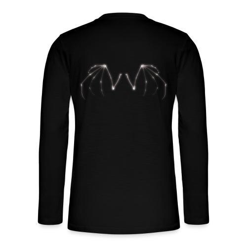 Skeleton Wings - Henley long-sleeved shirt