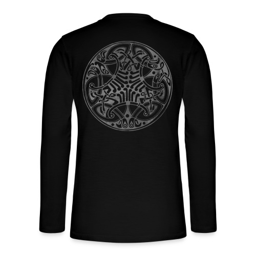 Old Celtic Birds Ornament Mandala 1 - Henley Langarmshirt