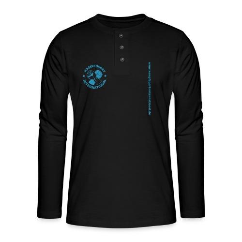 kiwebsite - Henley Langarmshirt