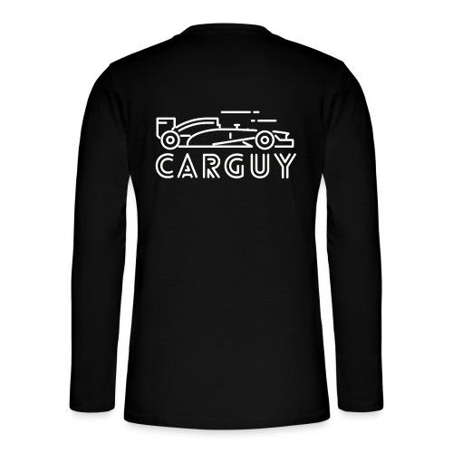 Carguy Autoliebhaber Autorennen Auto Sprüche - Henley Langarmshirt
