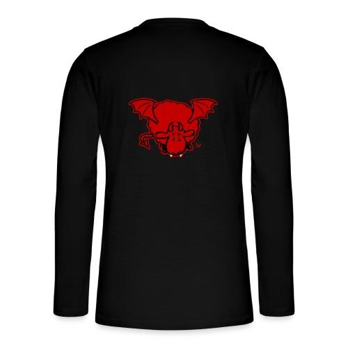 Devil Sheep - Henley T-shirt med lange ærmer