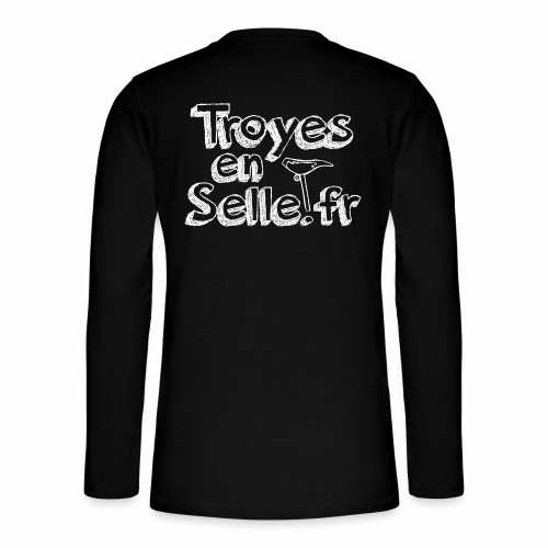 logo Troyes en Selle - T-shirt manches longues Henley