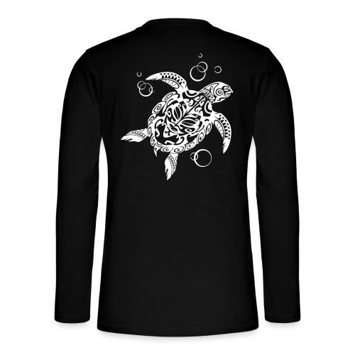 Watchful Turtle - Henley long-sleeved shirt