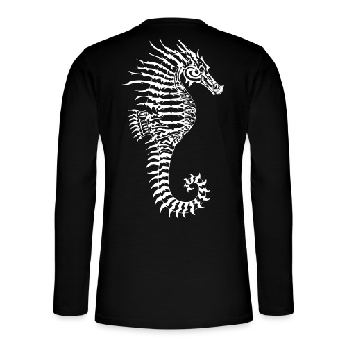 Alien Seahorse Invasion - Henley long-sleeved shirt
