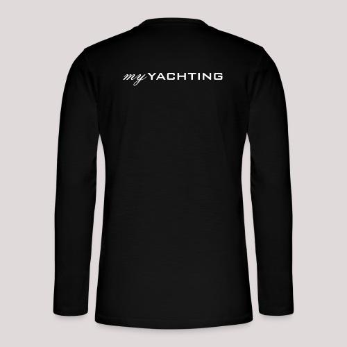 MyYachting weiss - Henley Langarmshirt