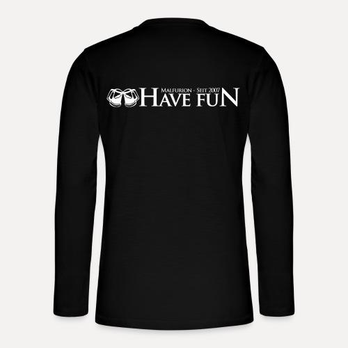 Logo Have Fun Malfurion - Henley Langarmshirt