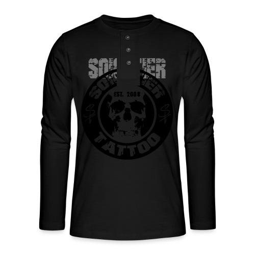 logo bad1 - Henley Langarmshirt