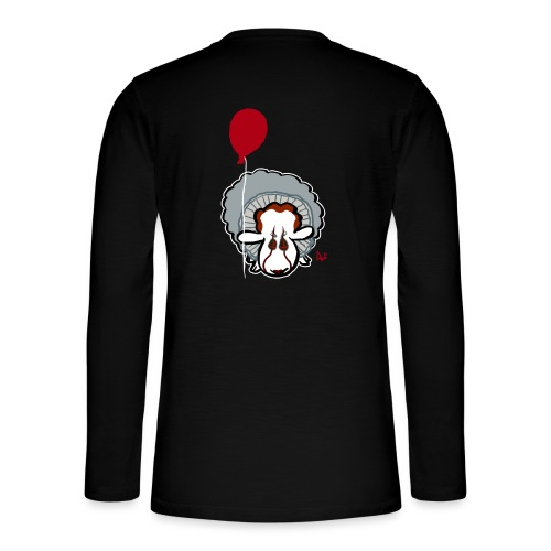 Evil Clown Sheep from IT - Henley Langarmshirt