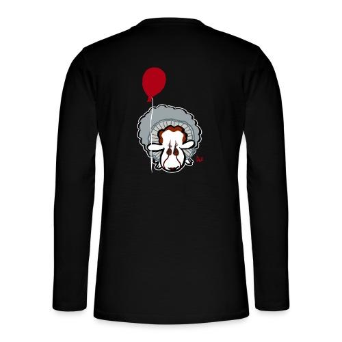 Evil Clown Sheep from IT - Henley langermet T-skjorte