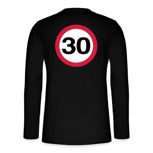 30mph Vector - Henley long-sleeved shirt