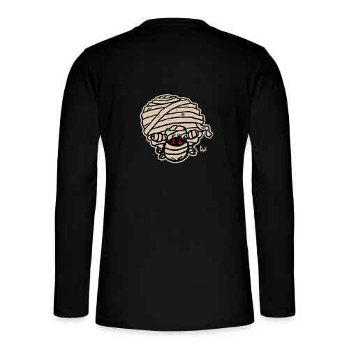 Mummy Sheep - Henley langermet T-skjorte