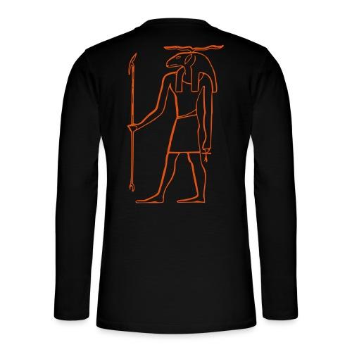 Ancien Dieu Egyptien - T-shirt manches longues Henley