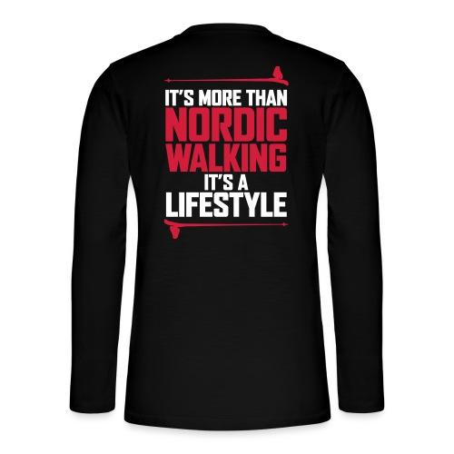 It's more than Nordic Walking - Henley pitkähihainen paita