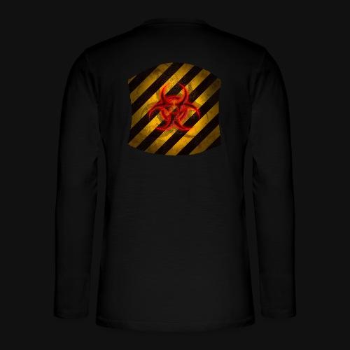 Biohazard v2 - Henley Langarmshirt