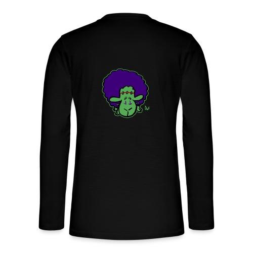 Frankensheep's Monster - Henley T-shirt med lange ærmer