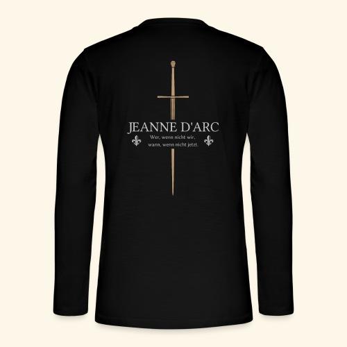 Jeanne d arc - Henley Langarmshirt