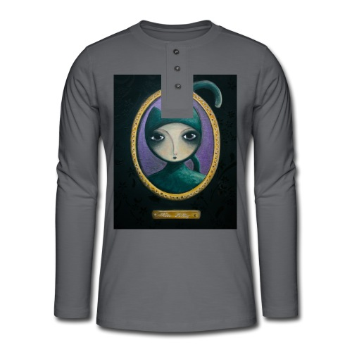 Miss Kitty t-shirt - T-shirt manches longues Henley