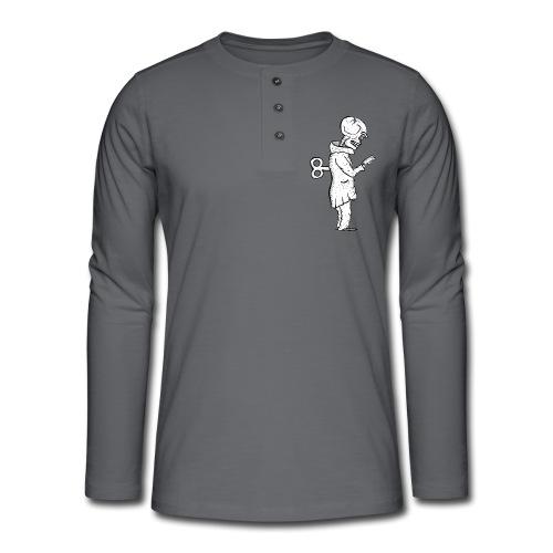 Téléphone Zombie - T-shirt manches longues Henley