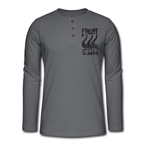 Frost Pipes Logo - Henley long-sleeved shirt