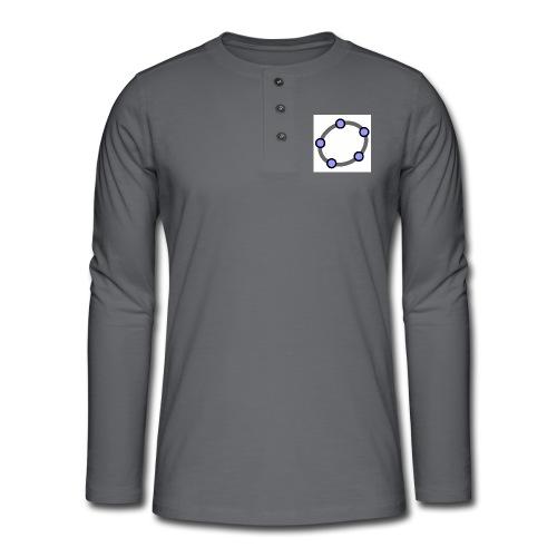 GeoGebra Ellipse - Henley long-sleeved shirt