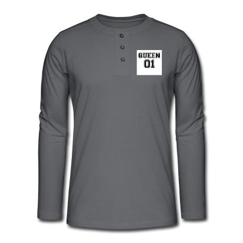 Queen 01 - T-shirt manches longues Henley
