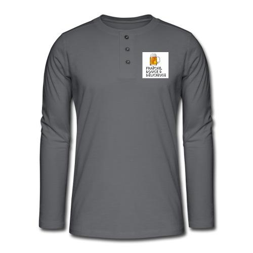 bière - T-shirt manches longues Henley