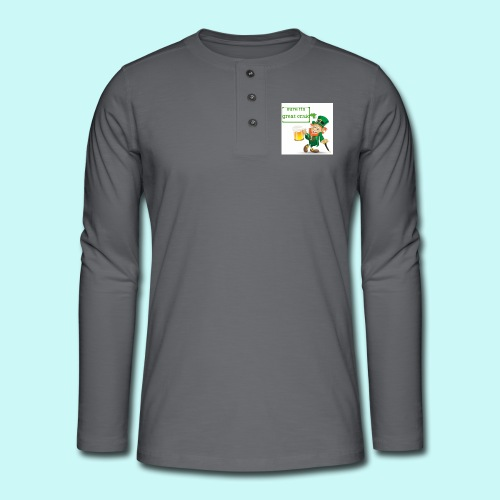 sure its great craic - Henley long-sleeved shirt