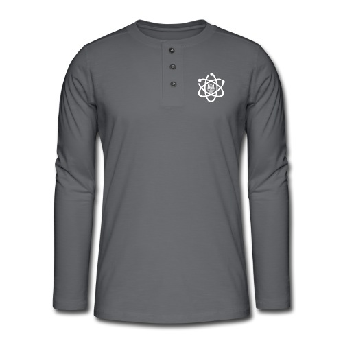 March for Science Aarhus logo - Henley long-sleeved shirt