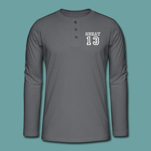 Obeat Limited Edition - Henley shirt met lange mouwen