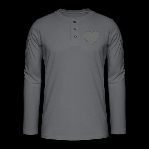 hearth design tee - Henley T-shirt med lange ærmer