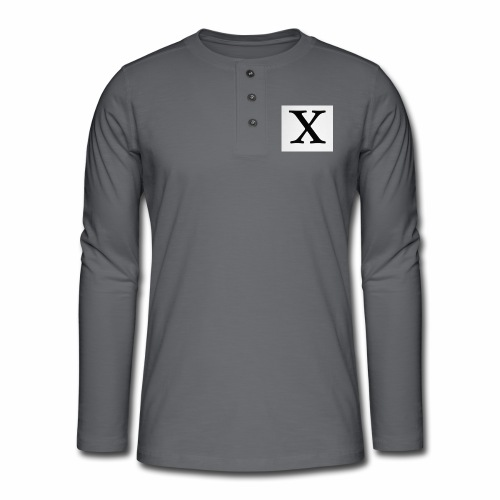 THE X - Henley long-sleeved shirt