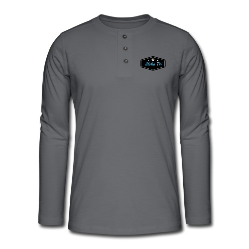 Aloha Tri Ltd. - Henley long-sleeved shirt