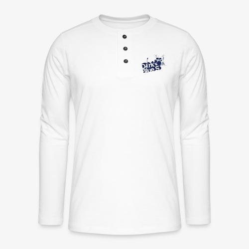 DarkBlueS outline gif - Henley long-sleeved shirt