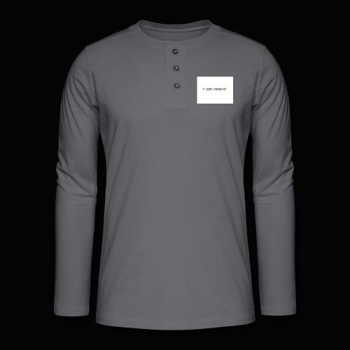 Vi Sætter Standarden - Henley T-shirt med lange ærmer