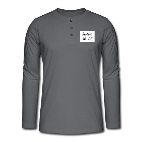 sis - Henley shirt met lange mouwen