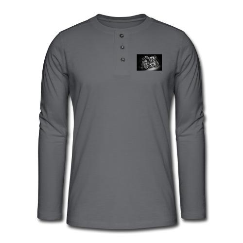 Monia's Thruxton 'Performance Scrambler' - Henley long-sleeved shirt