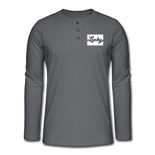 This is my YouTube channel merchandise #Youtube - Henley long-sleeved shirt