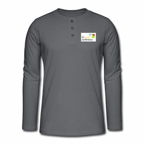 SFworldconference T-Shirts - Henley Langarmshirt